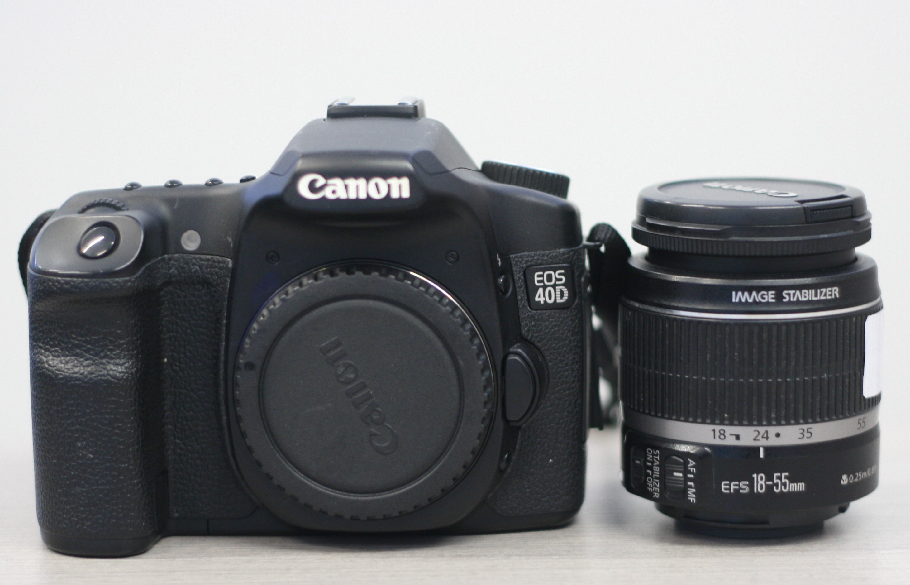 EOS 40d with 18-55mm Lens