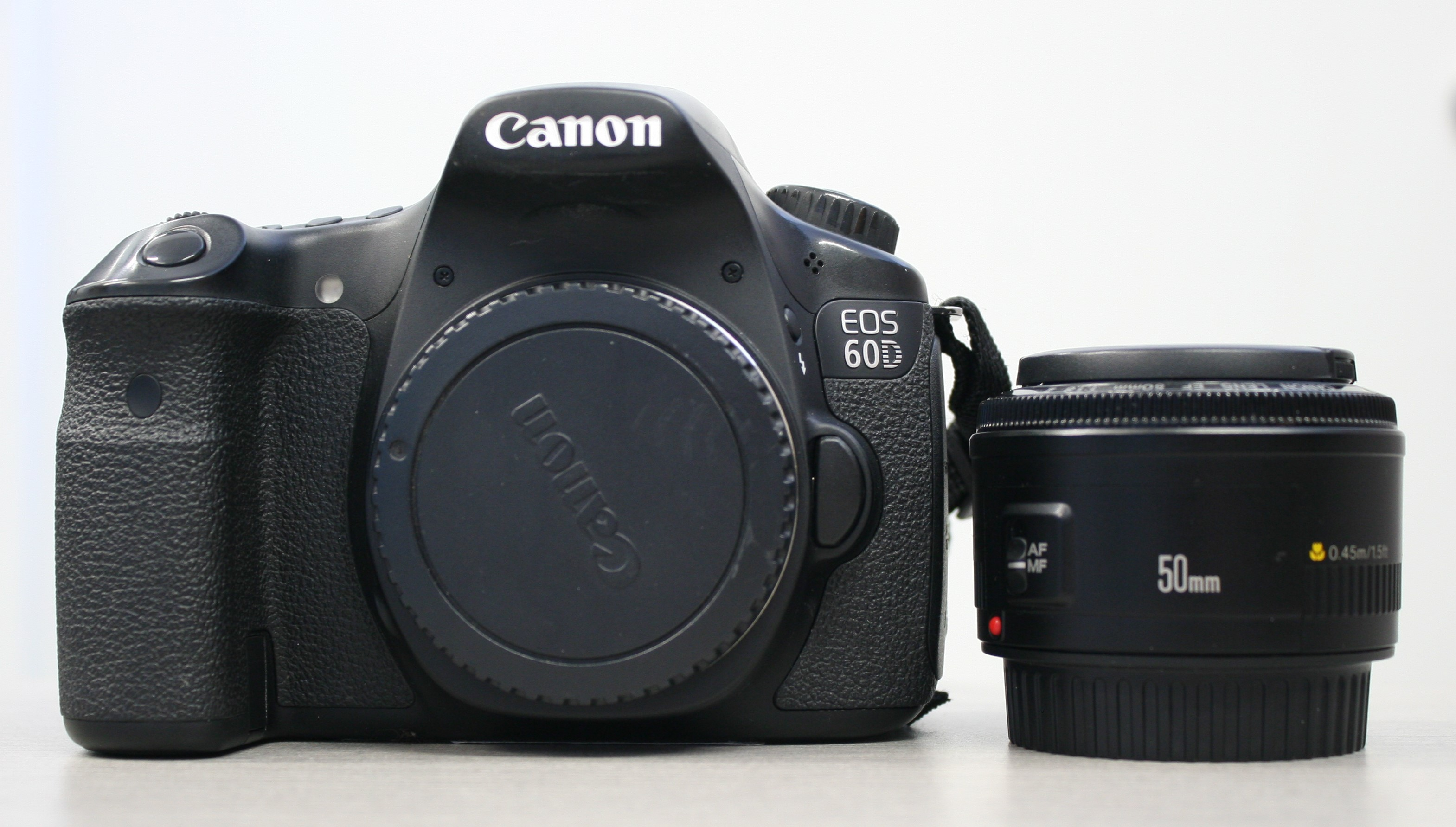 EOS 60D with 50mm lens