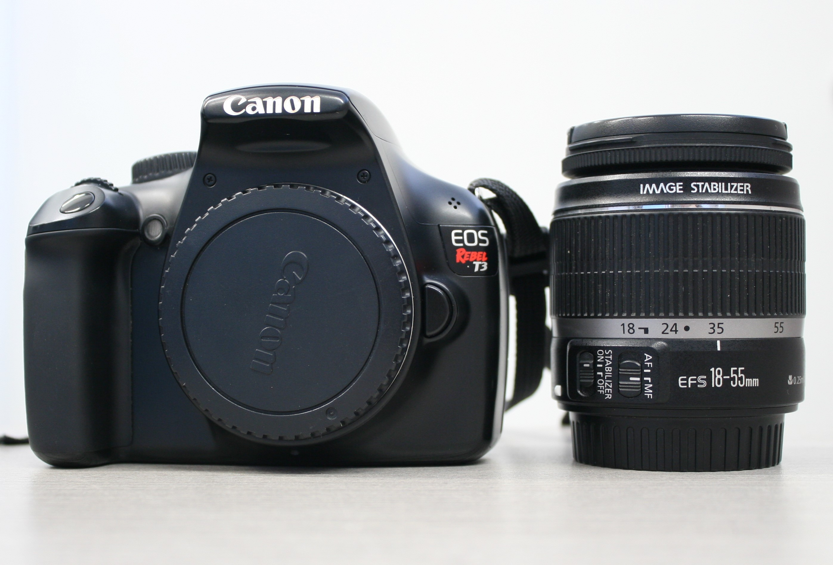 EOS Rebel T3 with 18-55mm Lens