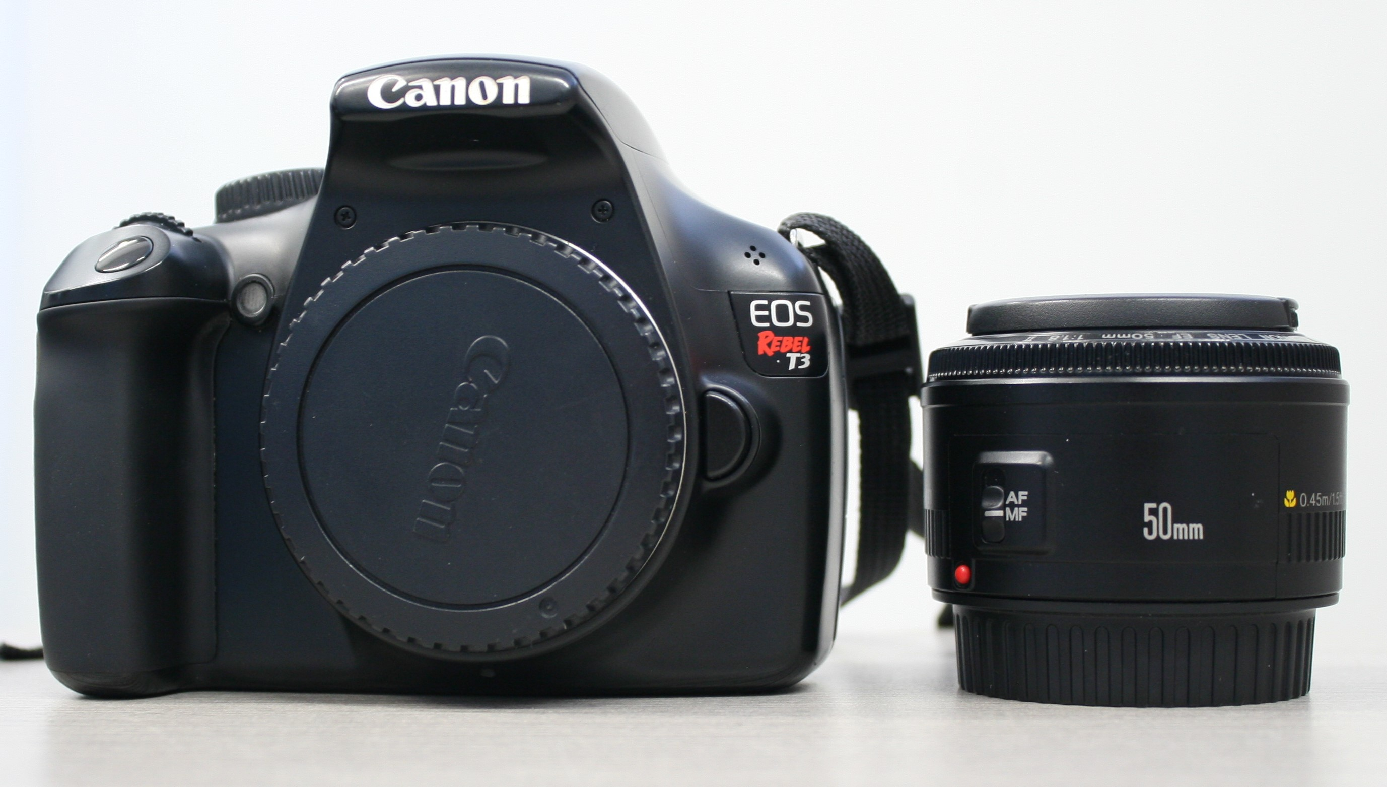 EOS Rebel T3 with 50mm Lens