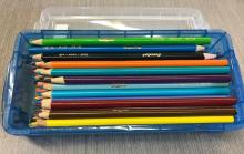colored pencil set photo