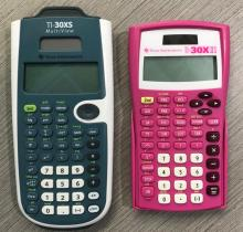 texas instruments scientific calculator photo